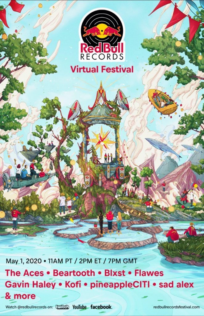 Red Bull Records Virtual Festival lineup