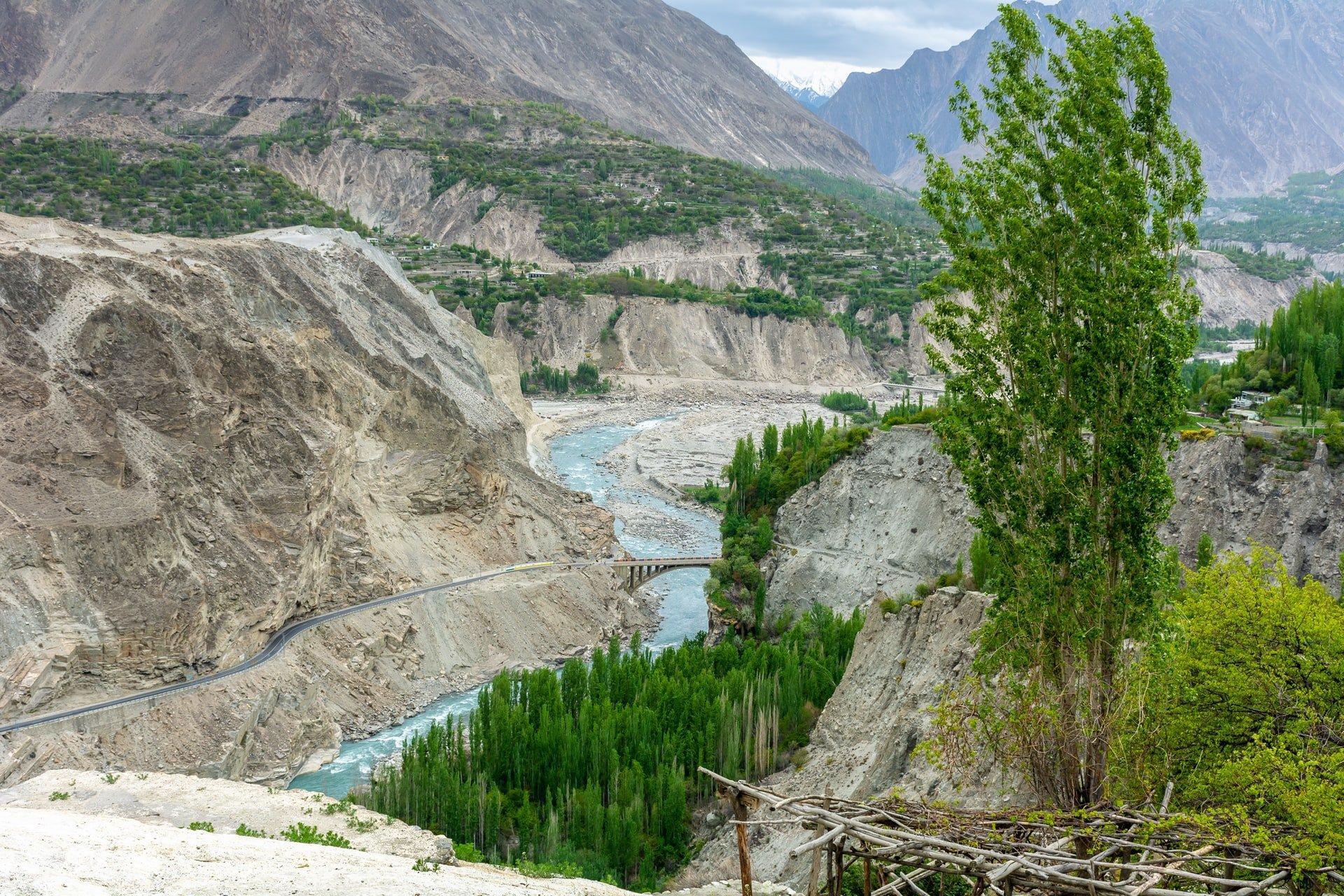 Explore the Karakoram Highway in Pakistan