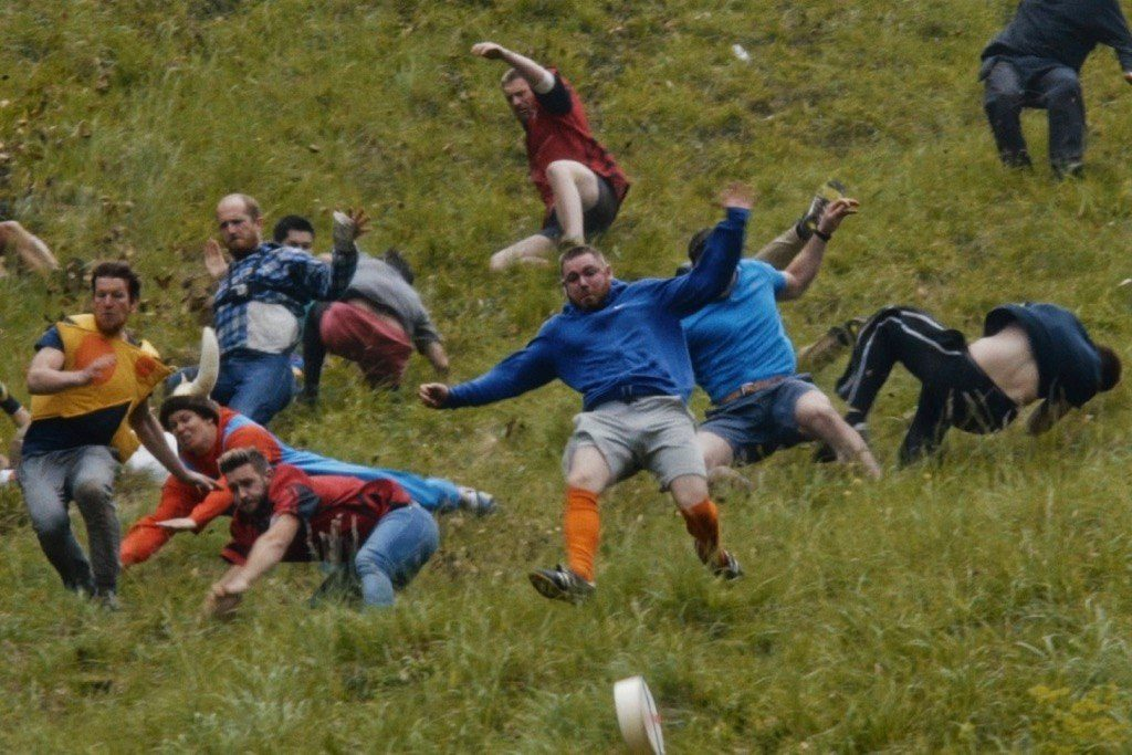 Podcast with Chris Thomas, the film director of the Cheese Rolling Film 'Let's Roll'
