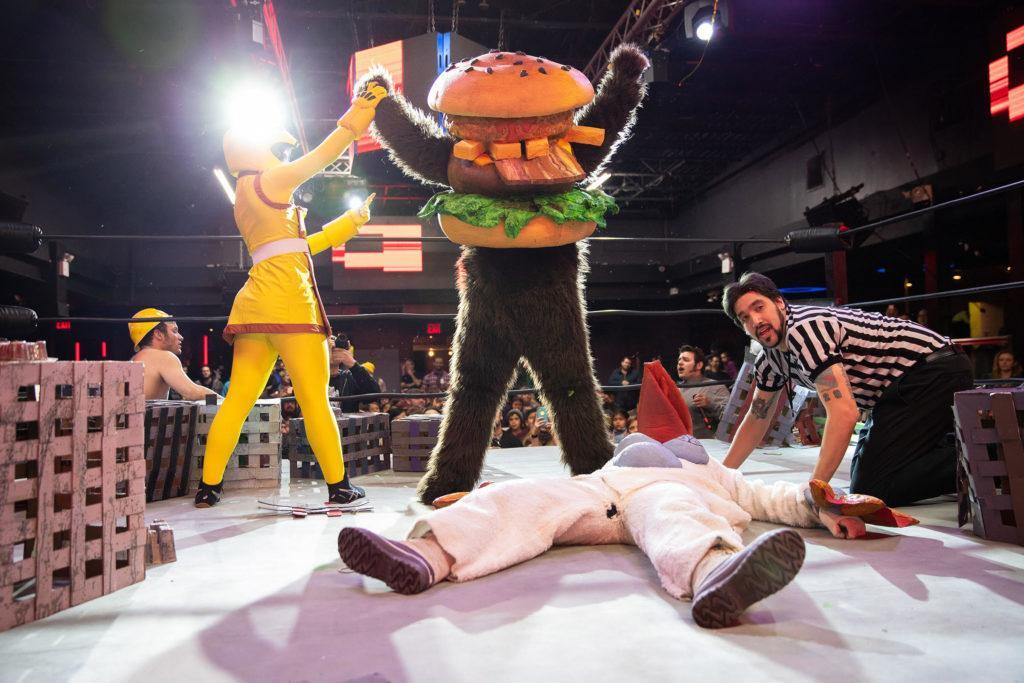 Live Monster Wrestling
