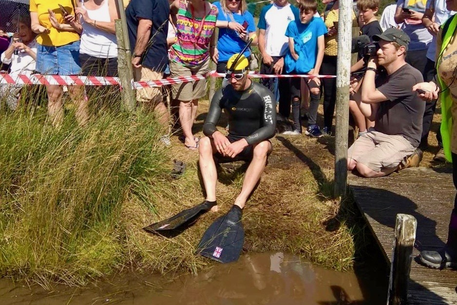 Podcast on Bog Snorkelling World Championships with Neil Rutter