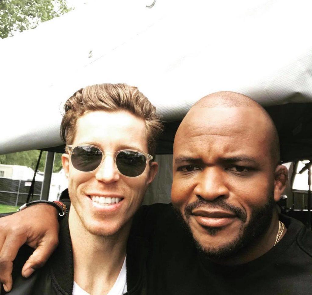 Sal Masekela and Shawn White