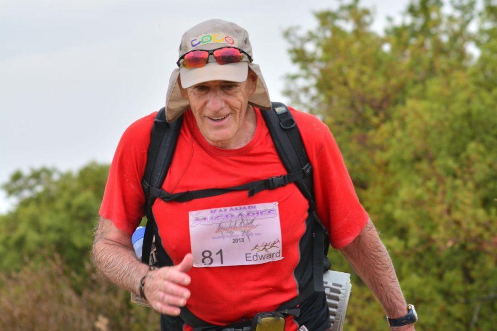 Edward Chapman completed the Kalahari Augrabies Extreme Marathon 12 times
