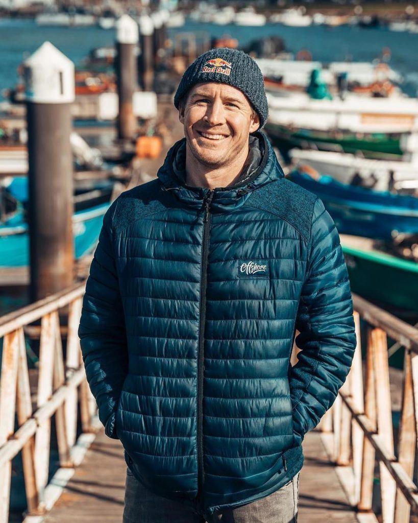 Andrew Cotton, professional big wave surfer and motivational speaker
