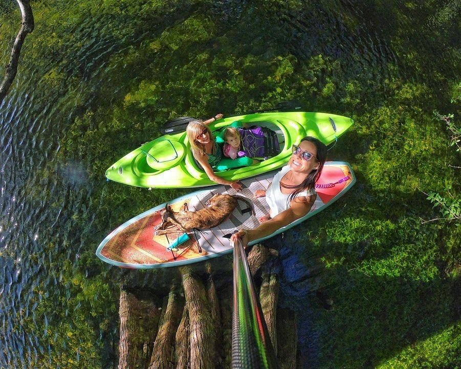 kayak and paddle board outdoor adventures with locals