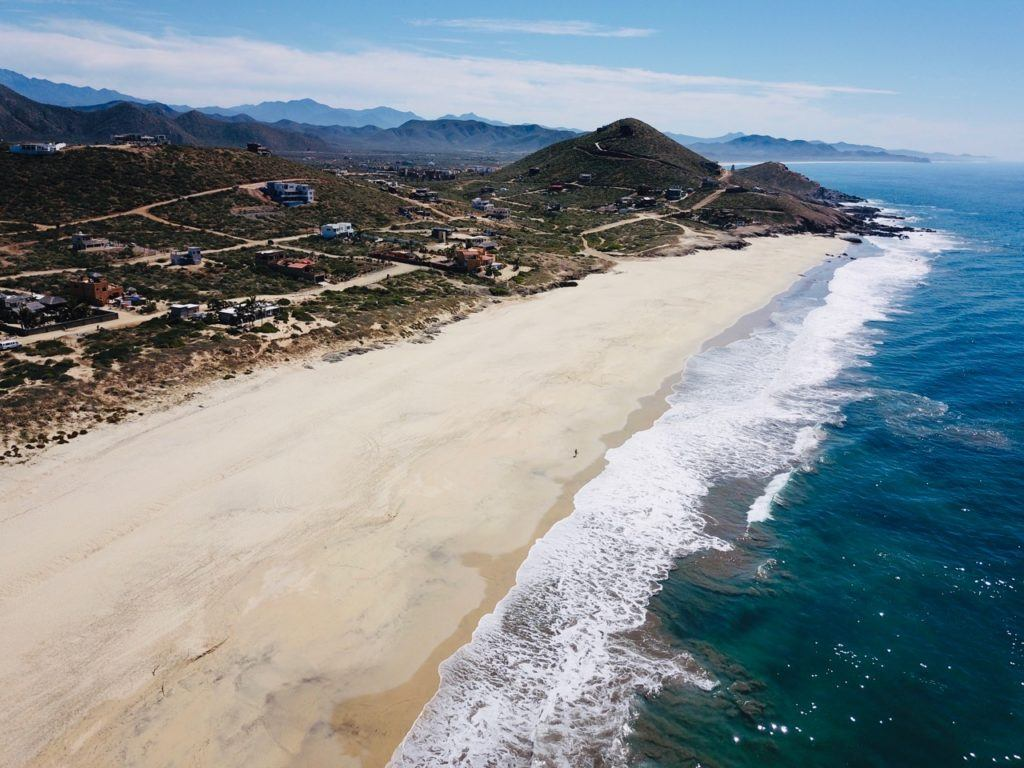 Southern Baja Mexico MEA Campus and beach
