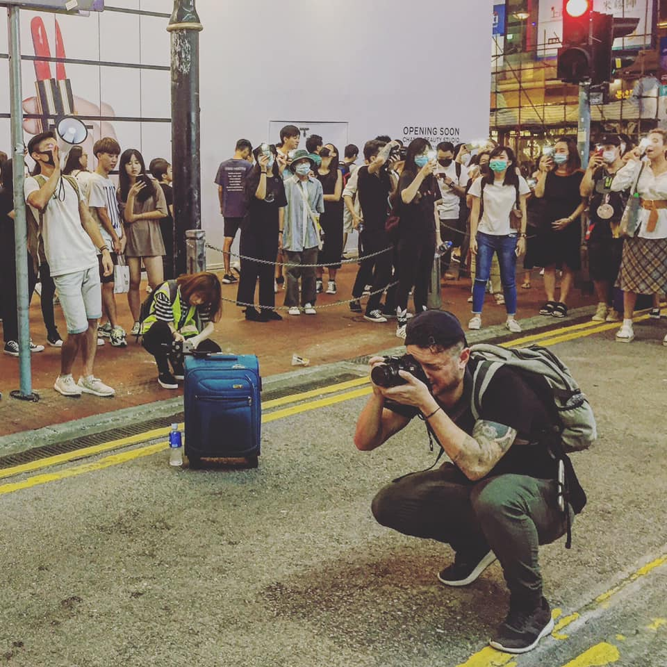 journalist and adventure travel writer Tommy Walker reporting from Hong Kong