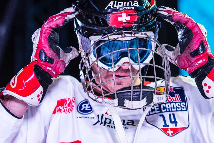 Jim De Paoli, a Red Bull Crashed Ice Champion that has been going Downhill since 2008