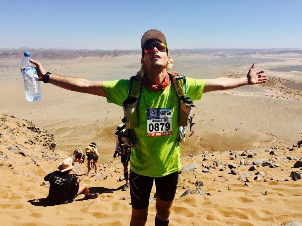 Marathon des Sables runner Nick Butter the start of the journey