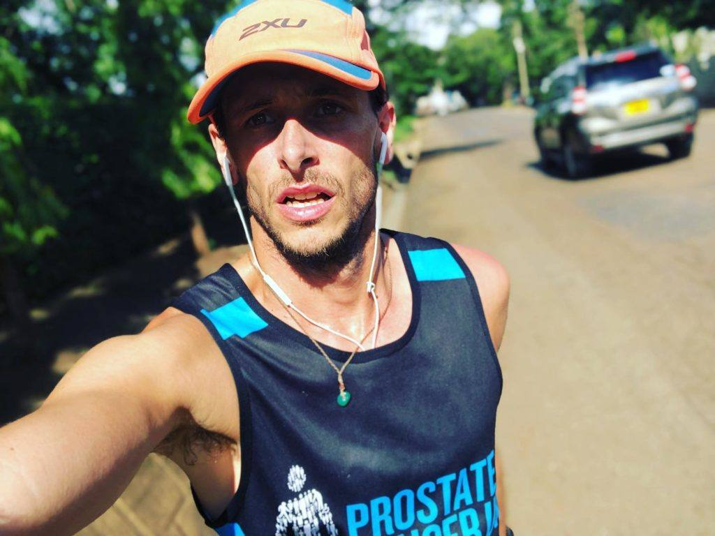 Nick Butter running 196 marathons around the world mental and physical health