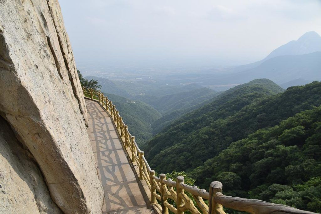Songshan Mountain in China