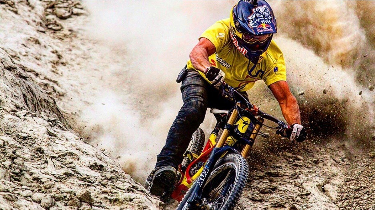 Freeride Mountain Biking: Darren Berrecloth Canadian freeride mtb pioneer
