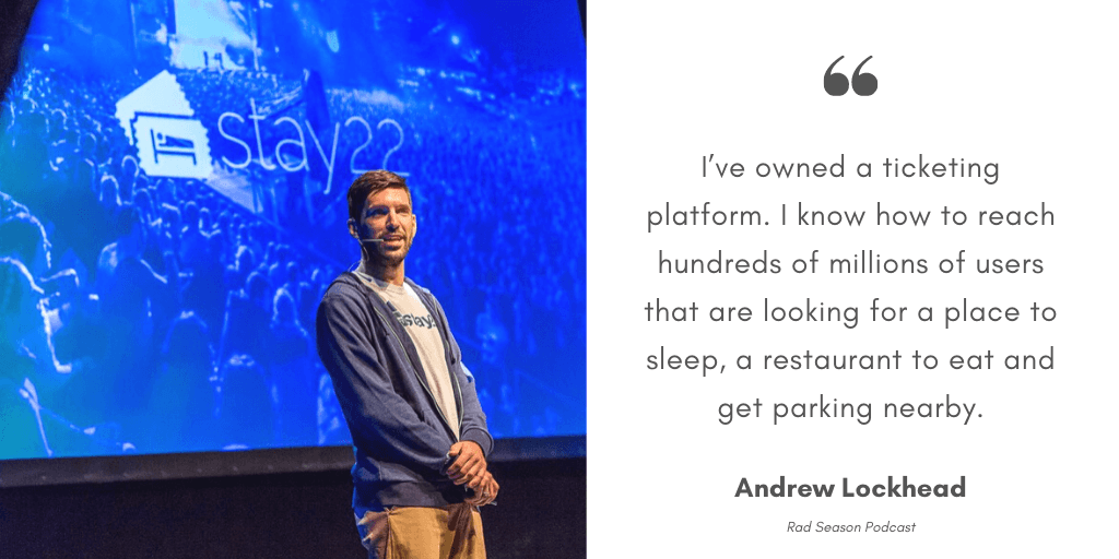 Andrew about Stay22