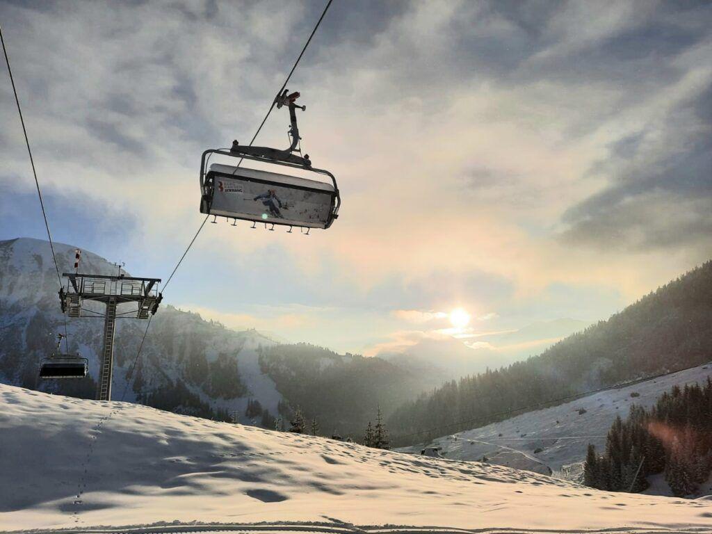 Bergbahnen Berwang ski resort in Austria