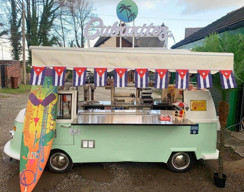 Cubanitos food truck in the UK