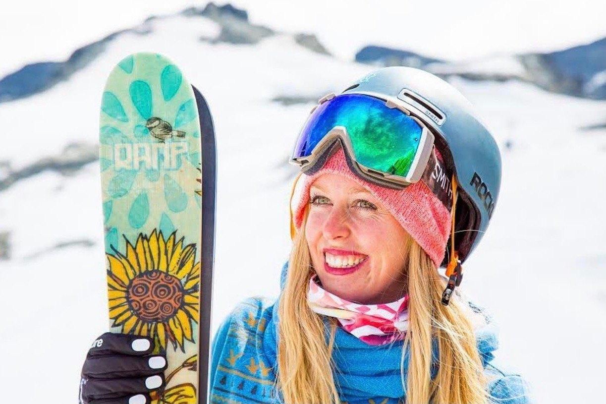 Jamie MoCrazy former pro skier and motivational speaker