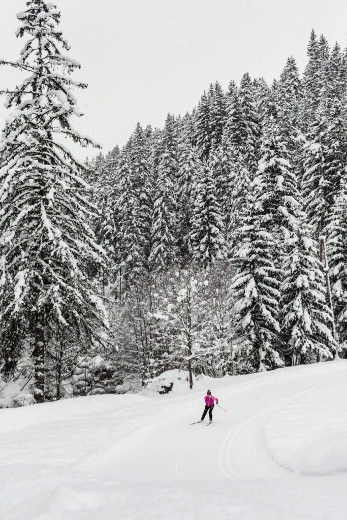 Pralognan la Vanoise ski resort France