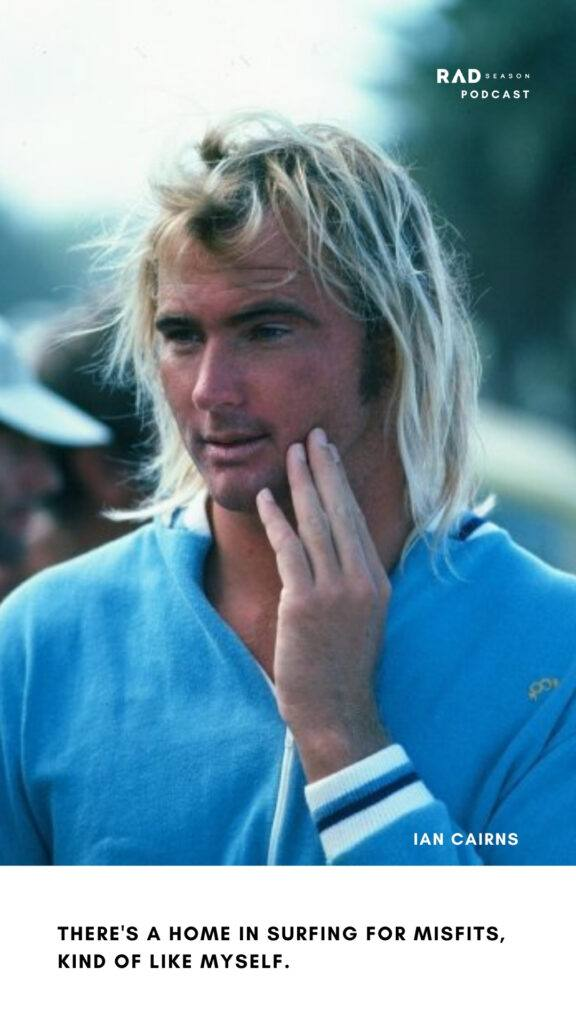 Ian Cairns early days surfing in Western Australia