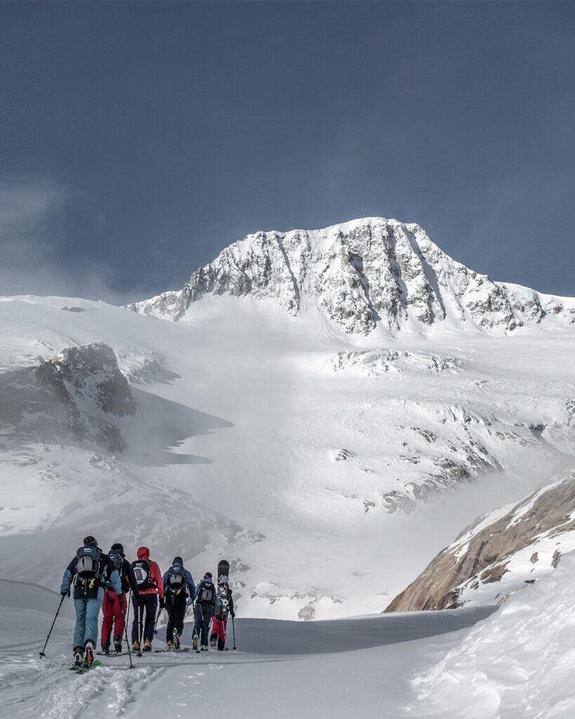 Mammut alpine school ski touring day and multi day trips