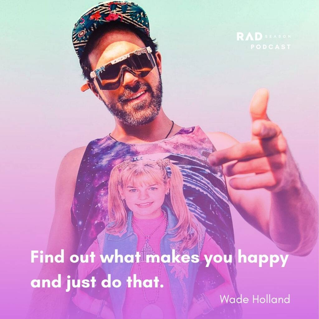 Wade Holland adventure content creator