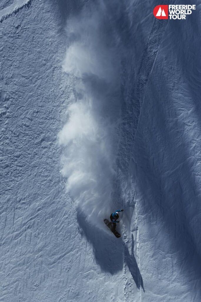 Erika Vikander freeride snowboarding