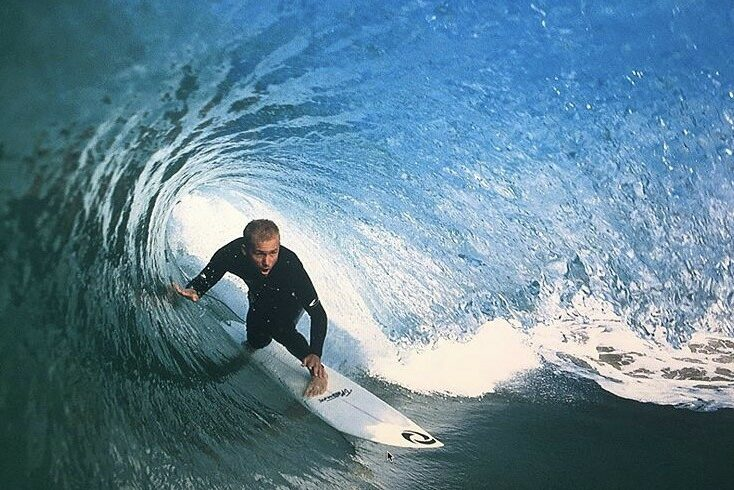 Legendary surfer Pat O'Connell