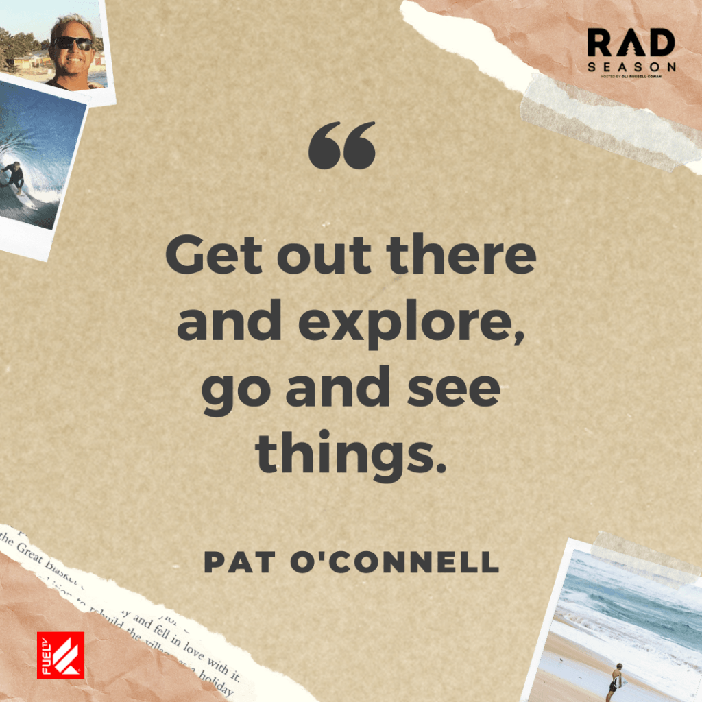 go out and explore