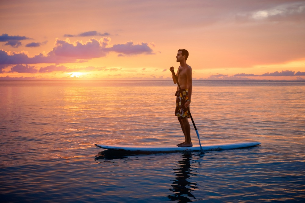 stand up paddleboarding has seen massive popularity during the covid-19 pandemic