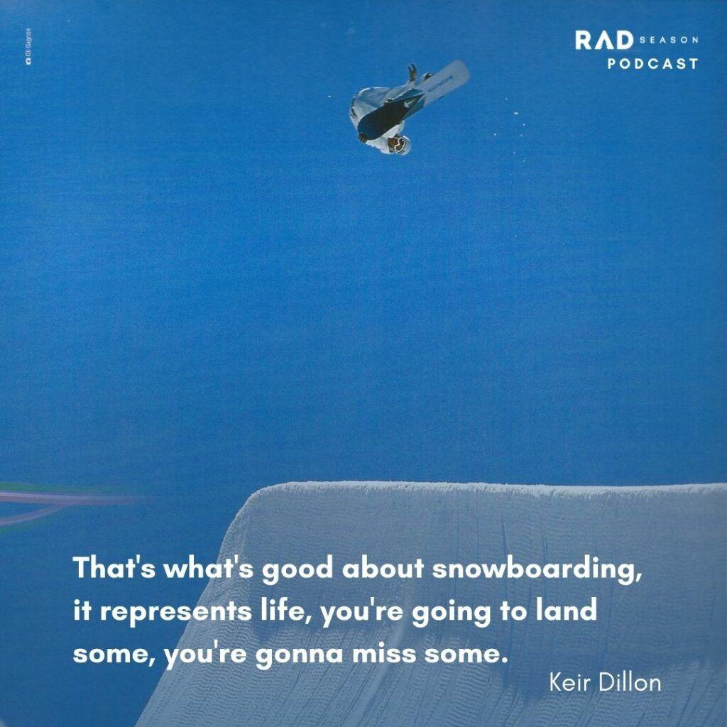 Keir Dillon Half Pipe Snowboarding