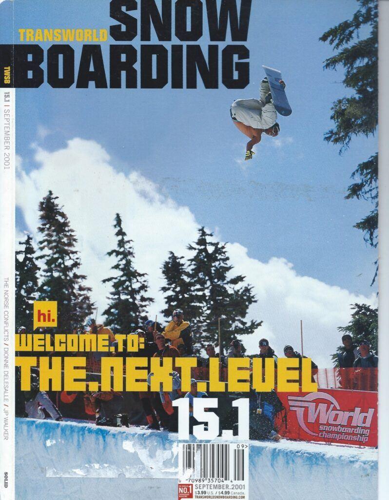Keir Dillon Snowboard - TWsnow Shot