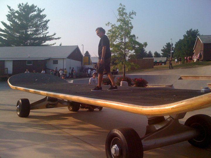 Gary Ream Giant Skateboard
