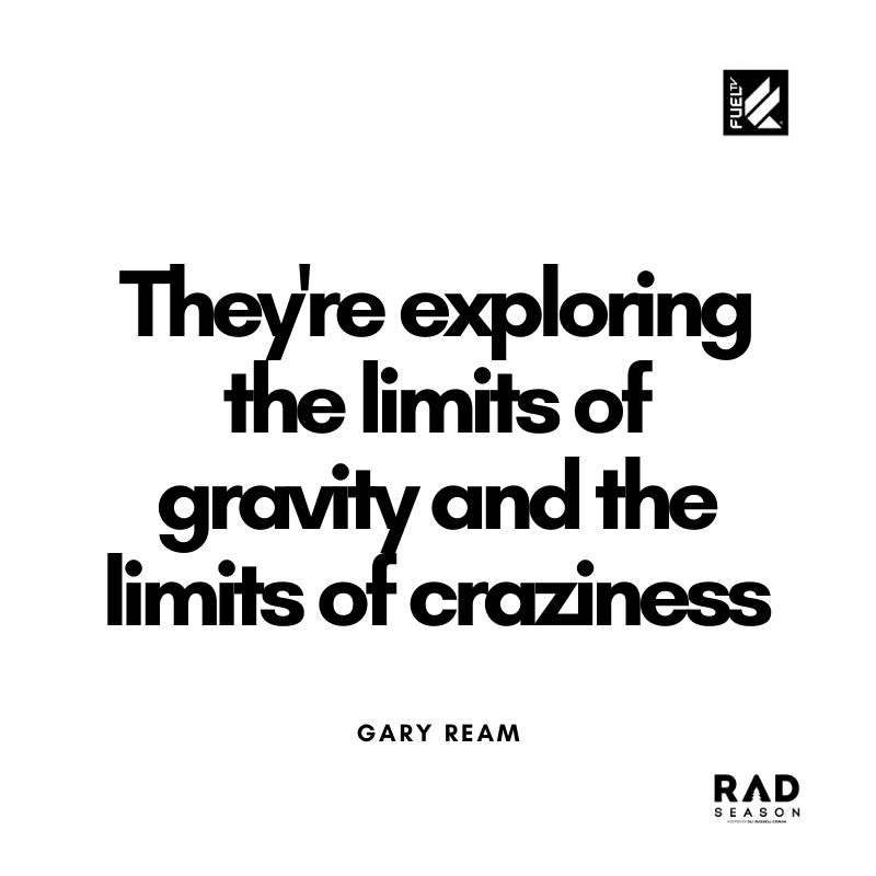 Gary Ream on bmx freestyle