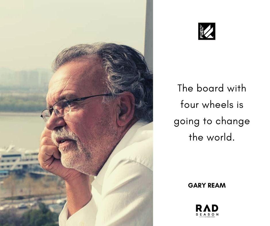 Gary Ream on skateboarding future