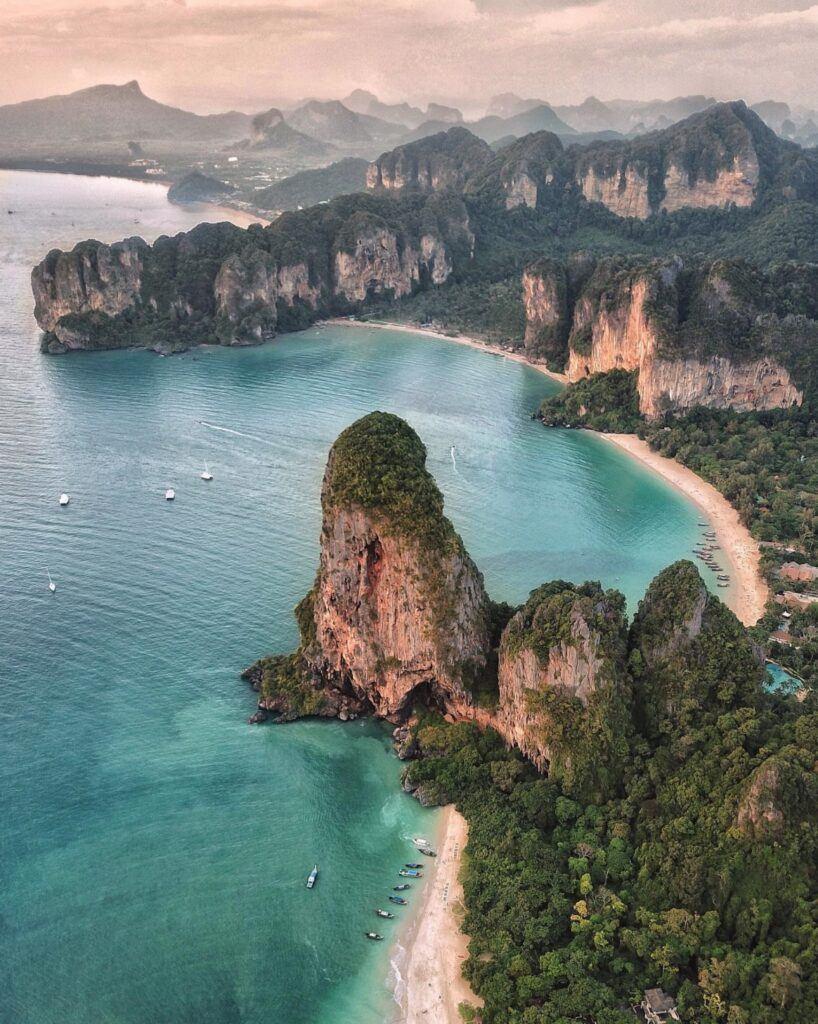 Railay Beach on Krabi, Thailand
