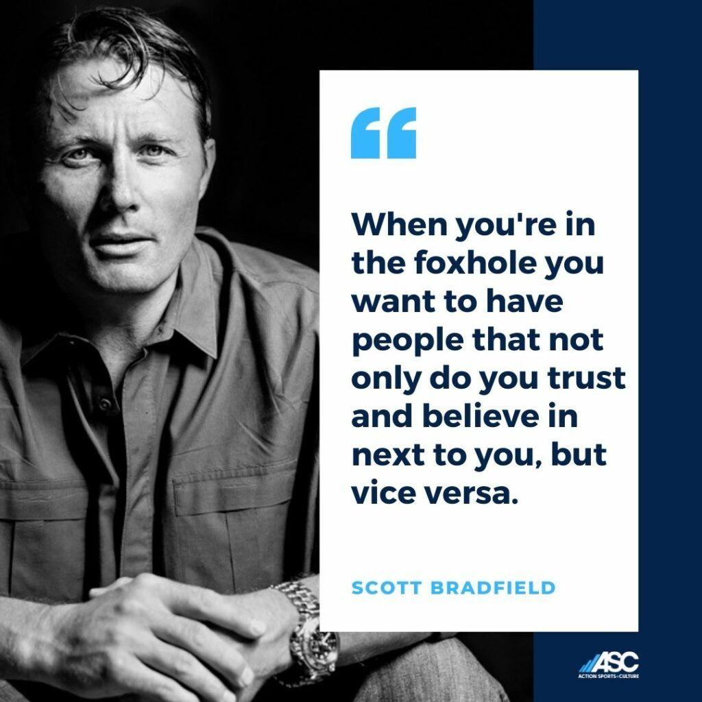 Scott Bradfield Red Bull team trust and belief
