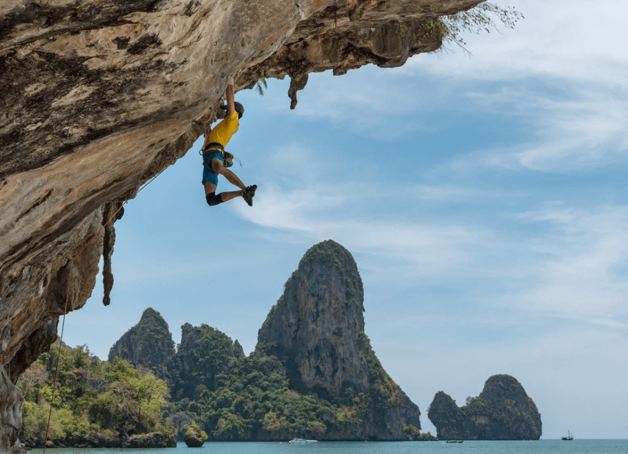 guide to climbing in Railay, Thailand