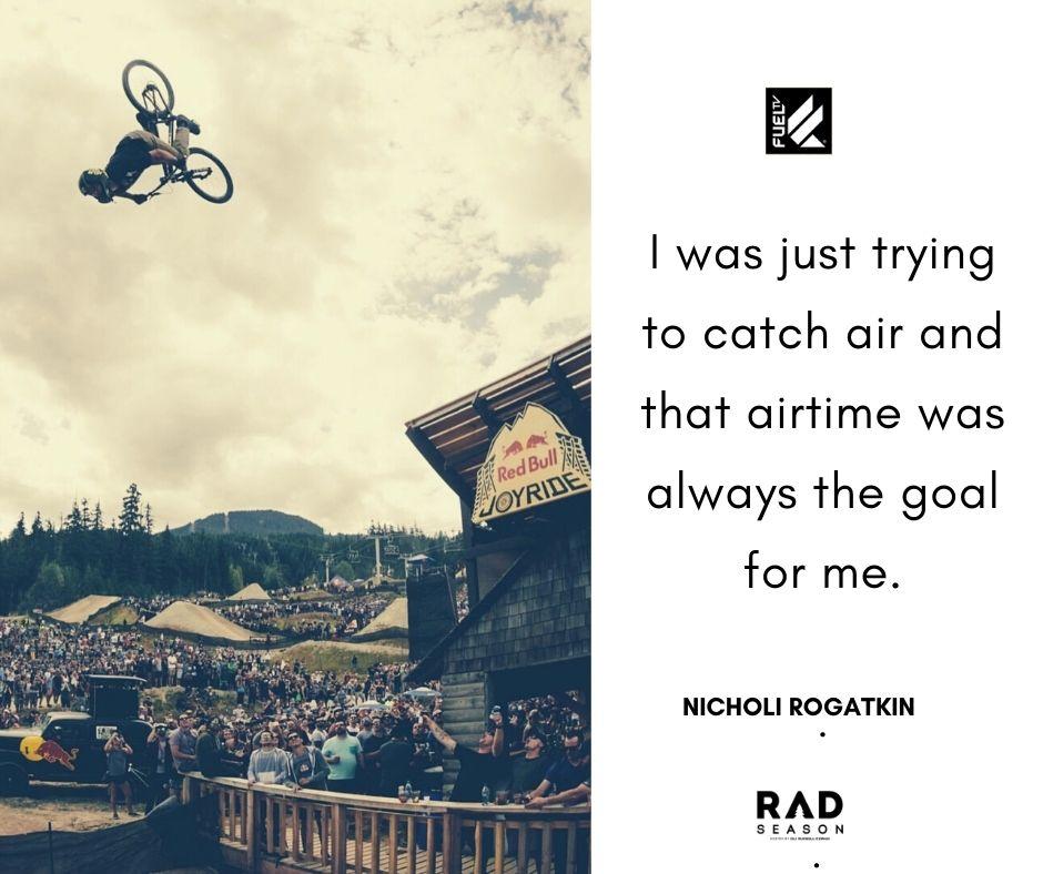 Nicholi Rogatkin air time and jumping