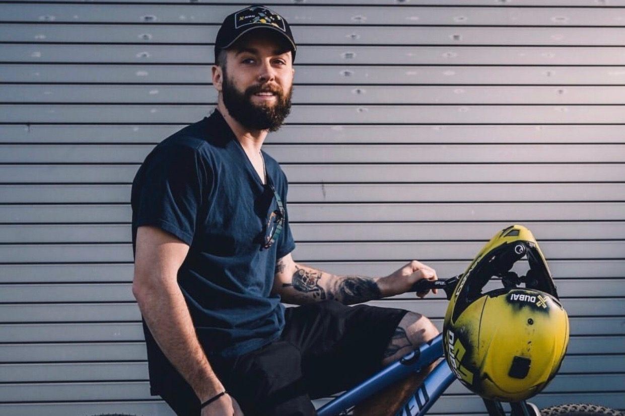 Nicholi Rogatkin Pro Slopestyle Mountain Biker