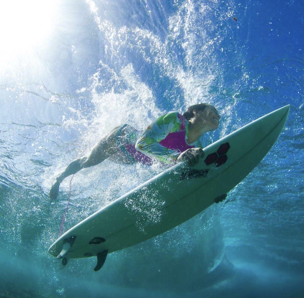 Shelby Stanger Surfer