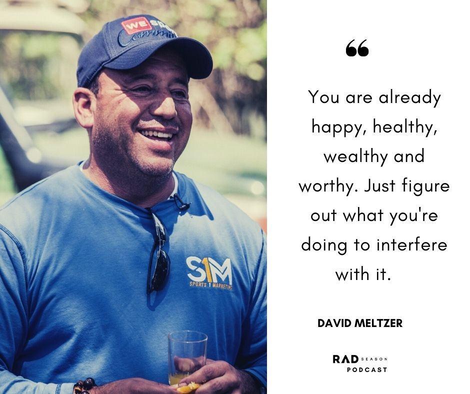 David Meltzer sports one marketing founder